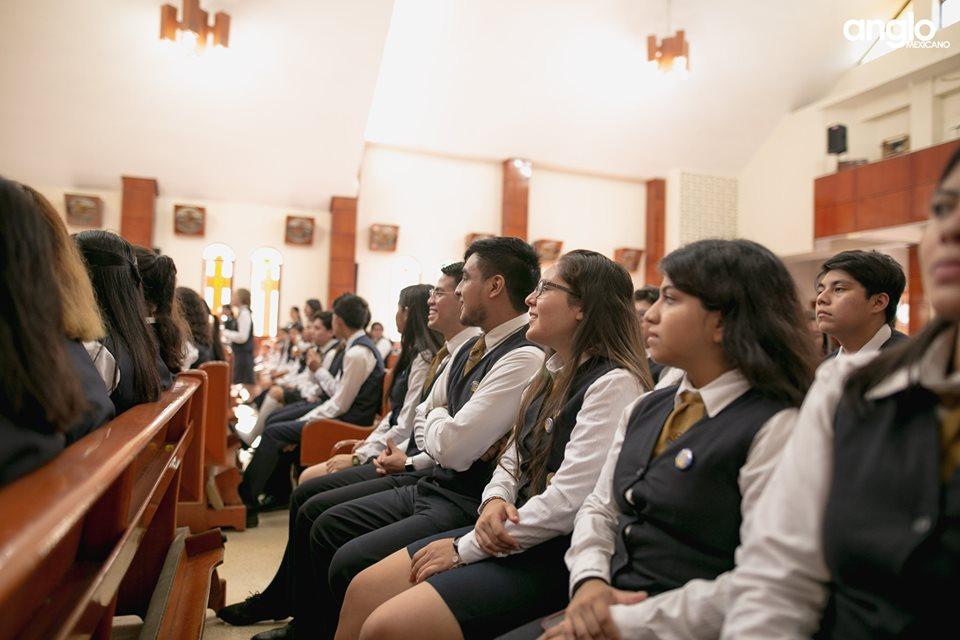 Colegio Anglo Mexicano de Coatzacoalcos - Misa de Acción de Gracias Back to School - 2019 - 11