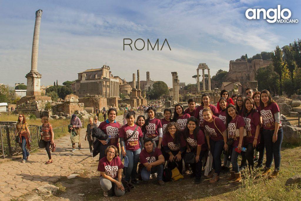 viaje-de-estudios---programa-de-intercambio---colegio-anglo-mexicano-de-coatzacoalcos-en-italia---ROMA-FORO-ROMANO