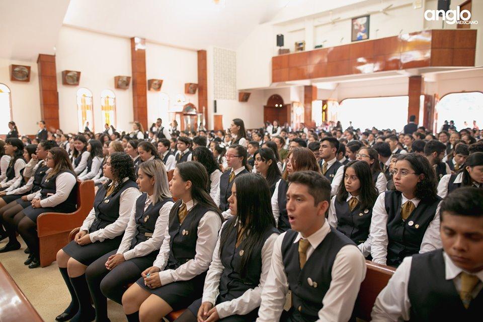 Colegio Anglo Mexicano de Coatzacoalcos - Misa de Acción de Gracias Back to School - 2019 - 10