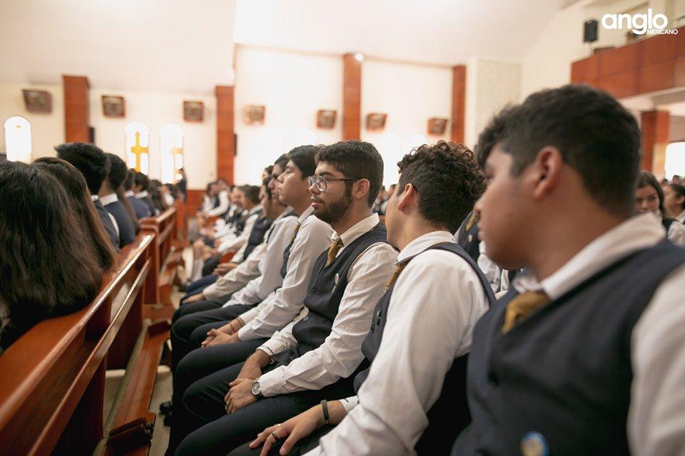 Colegio Anglo Mexicano de Coatzacoalcos - Misa de Acción de Gracias Back to School - 2019 - 13