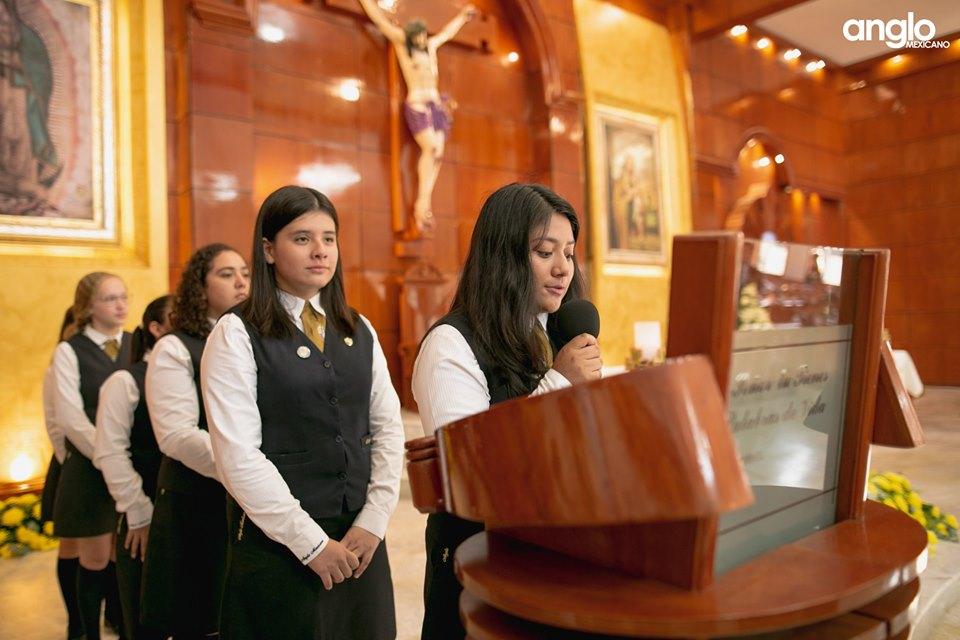 Colegio Anglo Mexicano de Coatzacoalcos - Misa de Acción de Gracias Back to School - 2019 - 16