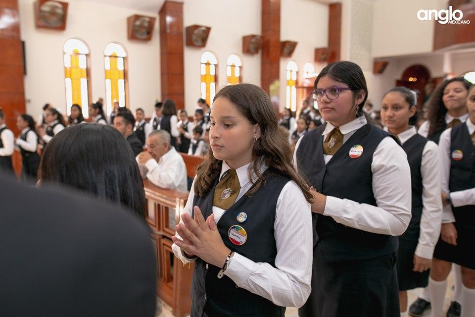 Colegio Anglo Mexicano de Coatzacoalcos - Misa de Acción de Gracias Back to School - 2019 - 4