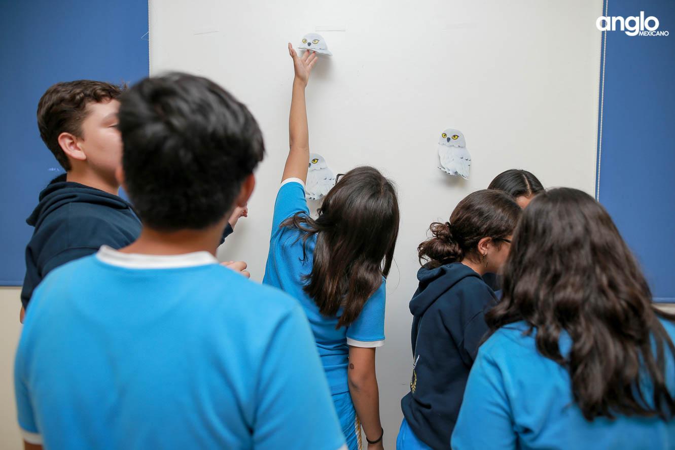 COLEGIO ANGLO MEXICANO DE COATZACOALCOS-SECUNDARIA-SEMANA DE LA LECTURA-SCAPE ROOM-2010